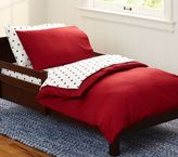 Pottery Barn Kids Organic Cotton Toddler Duvet Cover
