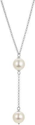 Mother of Pearl Adriana Women's Necklace 925 Sterling Silver Rhodium-Plated 45 CM Romantica B9