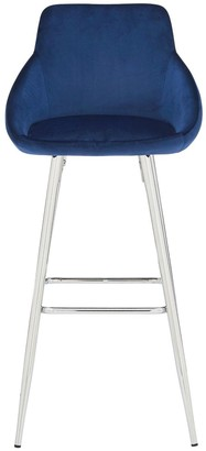 Dahlia Bar Stool - Blue