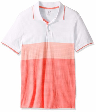 Lee Uniforms Lee Men's Shirt Short Sleeve Big Tall Regular