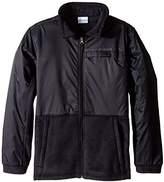 Columbia Boys' Steens MT Overlay Fleece Jacket