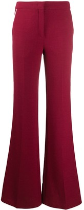 Emilio Pucci Trimmed Flared Trousers