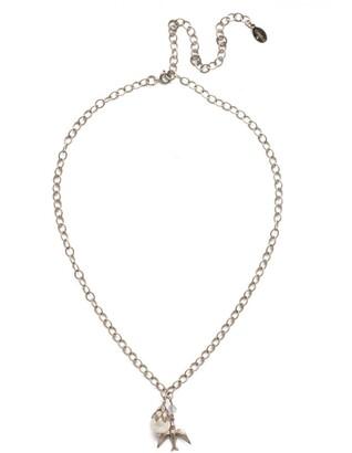Piper Pendant Necklace - Antique Silver