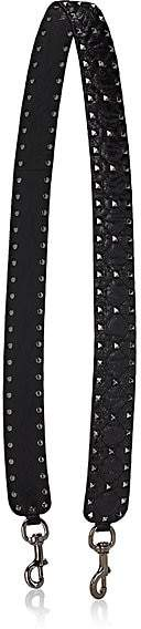 Valentino Women's Rockstud Leather Shoulder Strap - Black