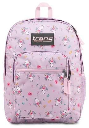 "JanSport Trans by 17"" Supermax Backpack - Boho Unicorn/Purple"