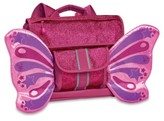 Bixbee Girl's Sparkalicious Butterflyer Backpack - Pink
