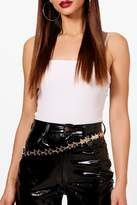 boohoo Eve Multi Star Chain Belt
