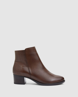 Easy Steps - Women's Brown Ankle Boots - Dapper - Size One Size, 7 at The Iconic