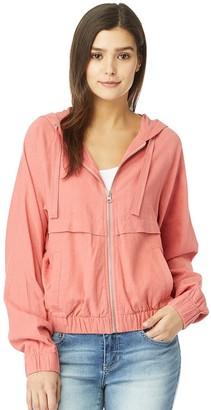 Juniors' WallFlower Insta Chill Hooded Jacket