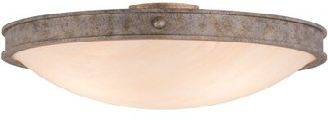 "Meyda Tiffany 3 - Light 23"" Simple Bowl Flush Mount"
