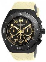 Technomarine Men's Manta 48mm Silicone Band Steel Case Quartz Watch Tm-215070