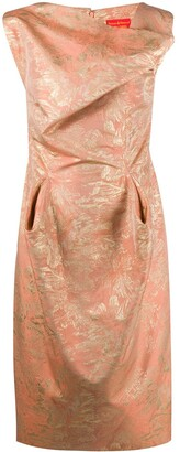 Vivienne Westwood Pre-Owned Jacquard Draped Dress