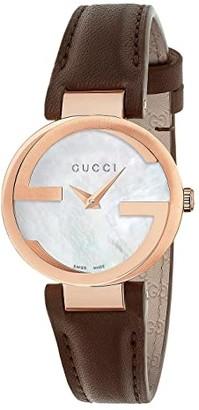 Gucci Interlocking - YA133516 (Brown) Watches