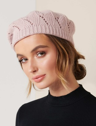 Ever New Willow Pointelle Beret
