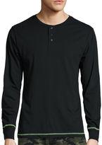 Asstd National Brand Jersey Pajama Top