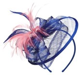 Nordstrom Women's Sinamay Fascinator Headband - Blue