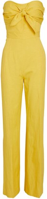 Derek Lam 10 Crosby Alene Strapless Tie-Front Jumpsuit