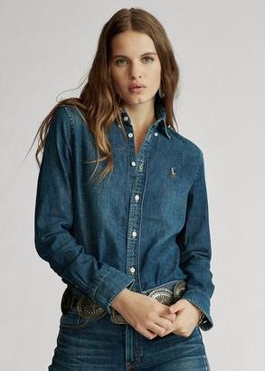 Ralph Lauren Custom Fit Denim Shirt