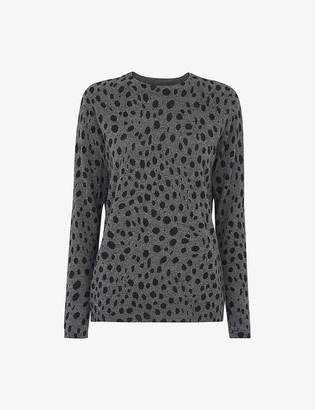 Whistles Round-neck cashmere jumper