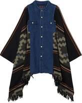 Scotch & Soda Denim Poncho Shirt Jacket