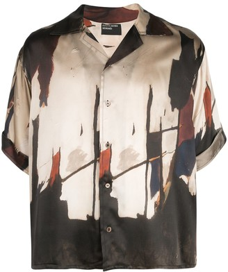 Enfants Riches Deprimes Loose Fit Silk Printed Shirt