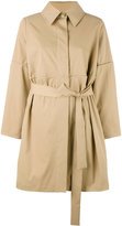 Chalayan belted trench coat - women - Cotton - M
