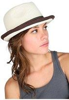 Two Tone Derby Hat