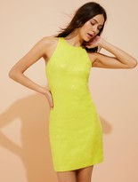 Halston Sequined body-con dress