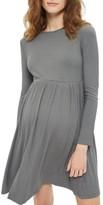 Topshop Women's Tie Back Maternity Skater Dress