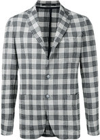 Tagliatore checked jacket - men - Cotton - 46