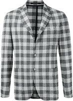 Tagliatore checked jacket - men - Cotton - 48