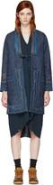 Visvim Blue Denim Ruunpe Coat