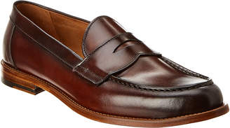 Antonio Maurizi Leather Penny Loafer