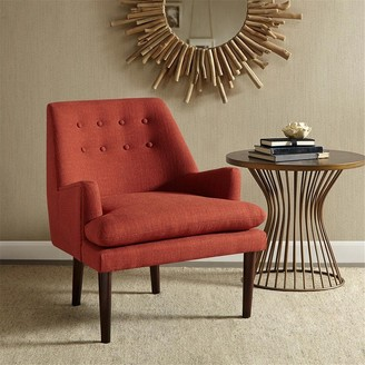 Madison Home USA Elsa Spice Mid-Century Accent Chair