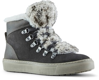 Cougar Daniel Faux Fur Trim Waterproof Boot