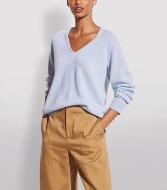 Vince Wool-Cashmere V-Neck Sweater