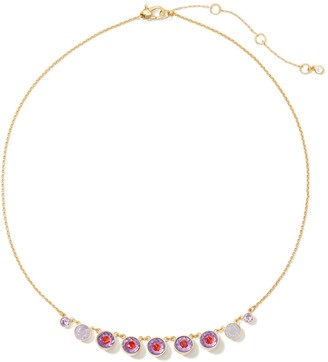 Kate Spade Reflecting pool frontal necklace
