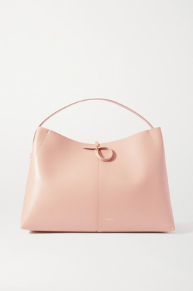Wandler Ava Large Leather Tote - Baby pink