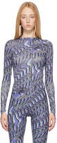Thumbnail for your product : MAISIE WILEN Purple Body Shop Long Sleeve T-Shirt