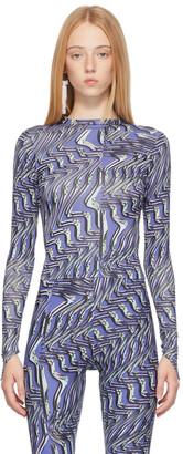 MAISIE WILEN Purple Body Shop Long Sleeve T-Shirt