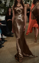 Ralph Lauren Kassy Strapless Gown