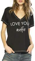 Peace Love World Love Your #Selfie Tee