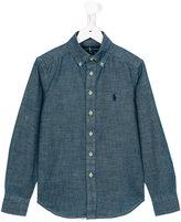 Ralph Lauren denim shirt - kids - Cotton - 4 yrs