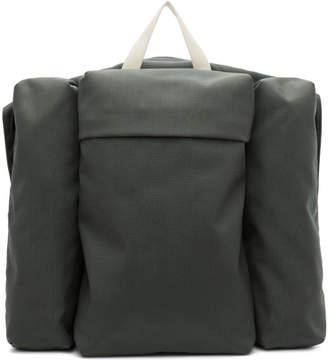 Jil Sander Green Climb Harness Multi Pockets Backpack