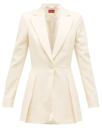 Altuzarra Barnhart Single-breasted Wool-blend Jacket - Cream