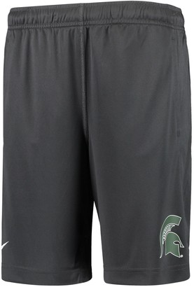 Nike Youth Anthracite Michigan State Spartans Fly 2.0 Performance Shorts