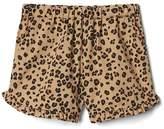 Ruffle dolphin shorts