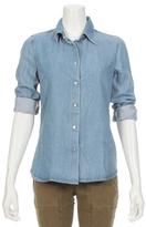 L'Agence Carine Denim Shirt
