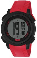 Puma Men's PU911151004 Next Red Digital Display Quartz Red Watch
