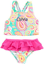 Princess Linens Pink Personalized Tankini Top & Bottoms - Toddler & Girls